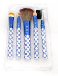 Makeup Brush Set Color Fever Blue