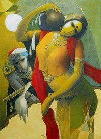 Modern Krishna Paintings