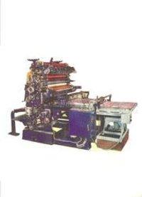 Metal Decorating Press Semi Automatic
