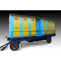 FRP Trolley Mounted Toilets