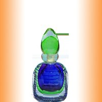 Square Flower Glass Perfume Bottle (50ml)