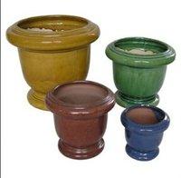 Ceramic Flower Pots (Cii 051)