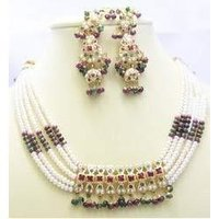 Designer Ladies Necklaces With Earring