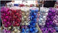 Traditional Christmas Hanging Balls