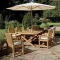 Garden Wooden Chair And Tables