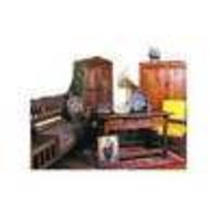 Wooden Colonial Table And Chairs