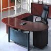 Wooden Office Tables And File Cabin