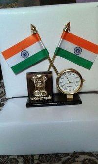 Indian Flag With Ashok Mark