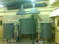 Exhaust Ducting & Hoods For Corrosion Fume Removal