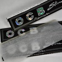 OCB King Size Premium Slim Rolling Papers with Filter Tips