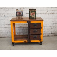 Wooden Trolly Table