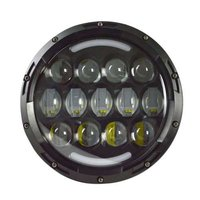 78W 7'' Halo Ring LED Headlight