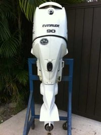 Used Evinrude 60hp/75hp/90hp 4 Strokes Outboard Boat Engine