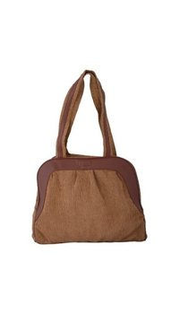 Clubb Candida Cord Brown Bag