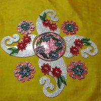 Marble Acrylic Rangoli