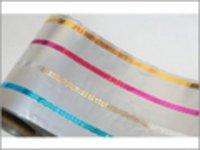 Holograms Transfer On Aluminium