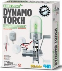 Kidz Labs Green Science Dynamo Torch Toy