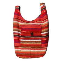 Latest Designer Fine Finished Multicolor Jute Trendy Shoulder Bag in Jaipur