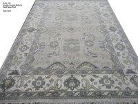 Handknotted Oushak Carpets