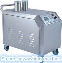 High Pressure Single Gun Steam Car Washer With Wax System