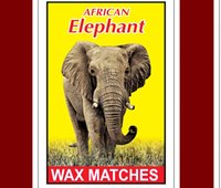 Wax Safety Matches