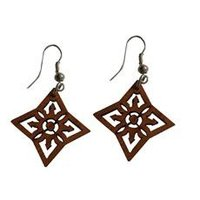 Coconut Shell Earings