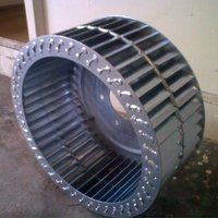 External Rotor Double Inlet Impeller