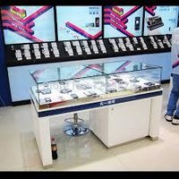 Mobile And Accessories Display Counter