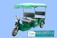 Electric Safari Rickshaws