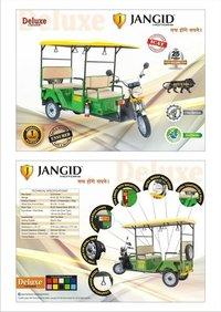 Deluxe E-Rickshaw