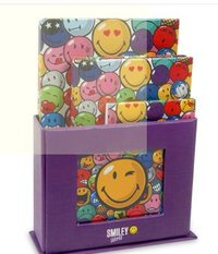 Smiley Notebook Set With Stand