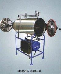 Horizontal High Pressure Sterilizer Double Door