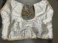 Lace Border Designer Blouse
