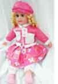 Porcelain American Girl Doll (24 Inch)