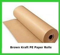 Brown Pe Coated Kraft Paper (Roll)