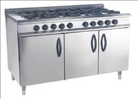 Stainless Steel Gas Oven