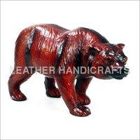Stuffed Leather Bear