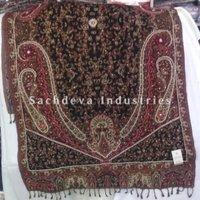 Polywool Kantha Embroidery Shawl