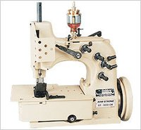 Single Needle, Plain Feed Double Thread Sewing Machine