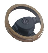 Brown Steering Wheel Cover