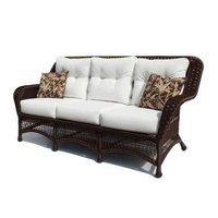 Rattan Triple Seat Sofa