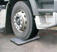 Portable Wheel Weigh Pads