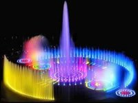 Musical Multi Colored Fountains
