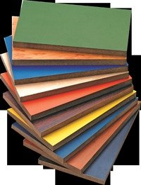Prelaminated Medium Density Fibre Boards