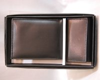 Leather Wallet And Key Pouch