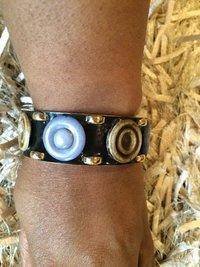 Acrylic Bangle Rhinestone Bracelets