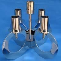 Aluminum Taper Candle Holders