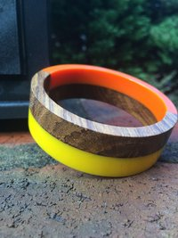 Wooden And Resin Bangles