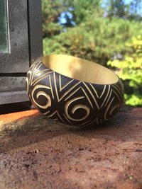 Wooden Carving Bangles