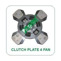Clutch Plate 4 Fan For Green Tractors